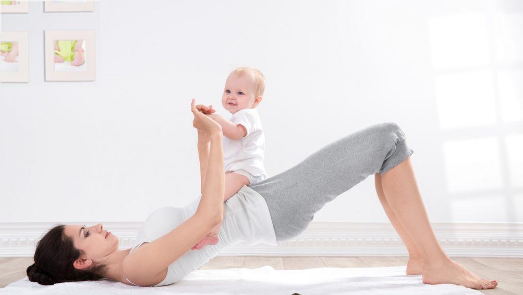 Yoga nach der Geburt