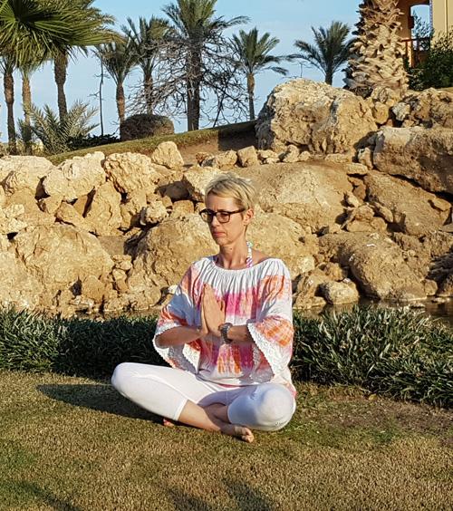 Yoga und Mantren